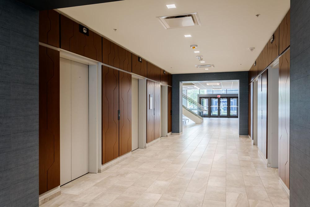 3 City Center Main Elevator Corridor
