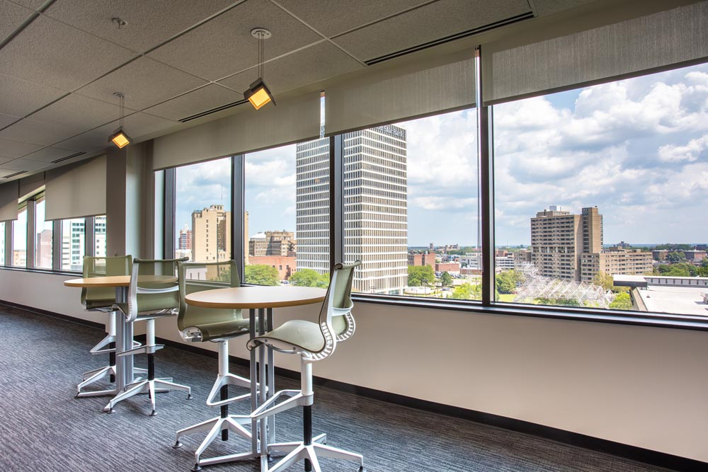 Office Suite Collaboration Zone at 3 City Center