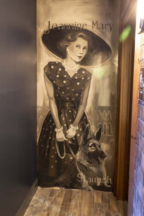 Fine Art Mural by Lorraine Staunch at Native Eatery and Bar