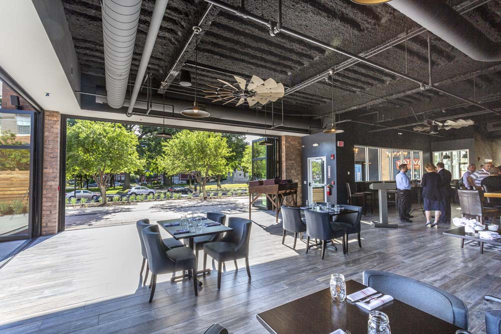 Large Patio Seating and Entertainment @ Native Eatery and Bar